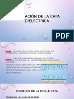 Formación de La Capa Dielectrica