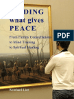 Reinhard Lier - Finding What Gives Peace (Family Constellation)