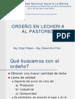Ordeño - Ing. Vargas, Ing. Cruz
