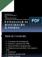 Metodología de La Investigación Trabajo