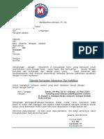 Undangan Panggilan Tahapan Seleksi PT. Mc Dermott Indonesia-Batam