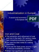 industrialization in europe