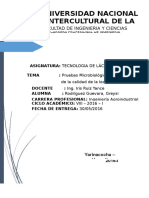 informe prueba microbiolocica de determinacin de la leche (Autoguardado) - copia.docx
