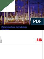 MANTENIMIENTO DE CONMUTADORES ABB – SERVICE.pptx