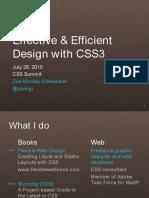 Effective Efficient Design CSS3