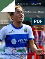 Revista Fútbol Femenino Galego. Xuño 2016