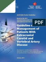 carotid guidelines 2011