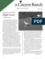 Audubon Canyon Ranch Bulletin, Spring 2005
