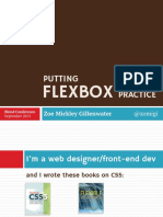 Putting Flexbox Into Practice Blend Conf 130907