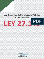 Ley Organica del Ministerio Publico de Defensa