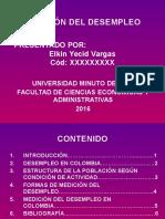 Medición Del Desempleo - Elkin Vargas