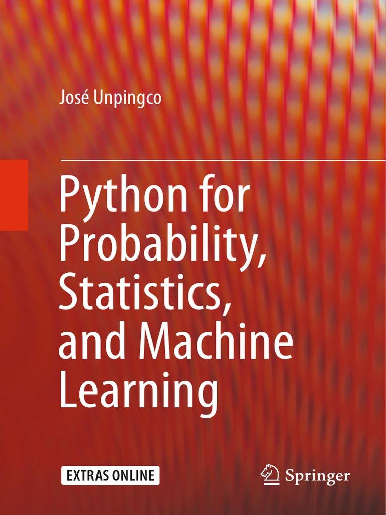 Python for probability statistics and machine learning python python for probability statistics and machine learning python programming language matrix mathematics fandeluxe Images