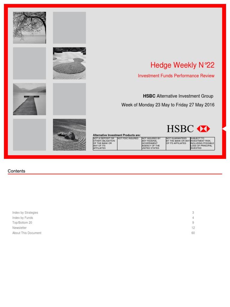 HSBC Hedge Weekly N22