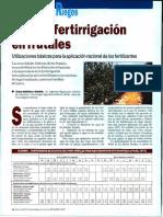 Riego y Fertirrigacion en Frutales
