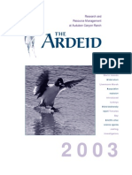 The Ardeid Newsletter, 2003 ~ Audubon Canyon Ranch
