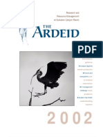 The Ardeid Newsletter, 2002 ~ Audubon Canyon Ranch