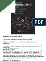 Presentación del Libro Comunicación web