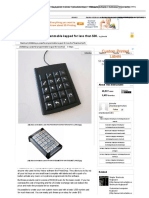Making a powerful programmable keypad for less than $30