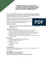 Efecto de Difrentes Dosis Del Fungicida Preventivo