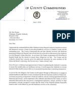 Al Scott letter to Don Waters