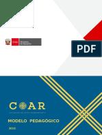 COAR 2015 Modelo Pedagogico- Docentes