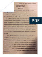 Pending House Bill on Teacher Evaluations From DPAS-II Advisory Committee