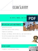 a1 african slavery