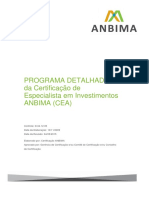 Exame de Certificação Qualificada Da ANBID
