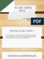 NTC ISO 14001 2015