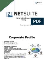 Presentation on Net Suite