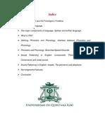 Resumen Curso Fonologia y Fonetica Universidad