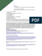Trabajo de Fundamentos Epistemologicos de La Ciencias Sociales