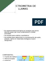 Espectrometria de Llamas