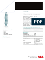ABB Surge Arrester POLIM-K - Data Sheet