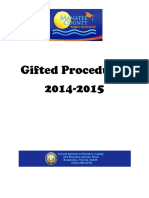 gifted procedures 2014-2015