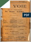 Voie 1904 May-nov