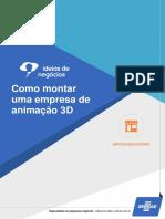 Como Montar Uma Empresa de Animação 3D