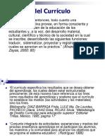 EL CURRICULO - CONCEPTOS