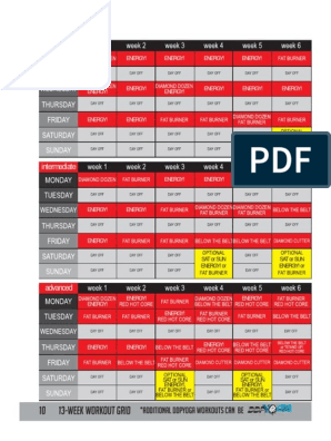 image relating to Ddp Yoga Schedule Printable identified as DDP Yoga Application Marketing consultant.pdf