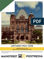 Mainstreet - Ontario May 2016