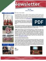 e1 newsletter