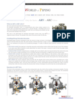Automatic Recirculation Control Valve (ARC)