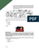 Questões Contextualizadas e Interdisciplinares de Língua Inglesa Com Descritores