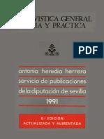 Archivistica General Teoria y Practica- ANTONIA HEREDIA