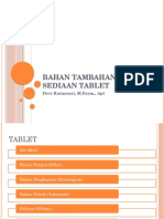 1. Bahan Tambahan Sediaan Tablet