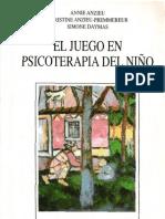 El juego en psicoterapia del niño, terapia psicoanalitica
