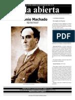 Suplemento Aula abierta. Antonio Machado20081025_AA