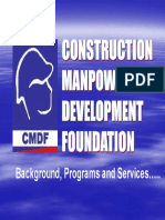 Construction Manpower Development Foundation - 24 Pages