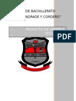 Proyecto Orden y Seguridad 2015 2016