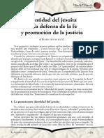 Defensa de La Fe y Promocion de La Justicia